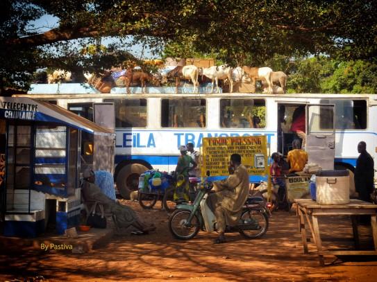 Parada de Autobus (Guagua) Uagadugú